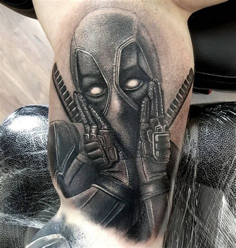 deadpool tattoos 9 tattoos that deadpool fans will