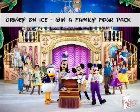 Disney Giveaway On Facebook - disney on ice in milwaukee ticket giveaway