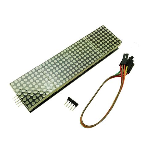 Max7219 4 In 1 Dot Matrix Module produino max7219 4 in 1 dot matrix display module