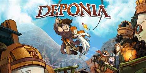 deponia nintendo switch games nintendo