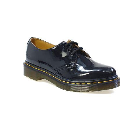 dr martens 1461 patent ler black shoes ebay