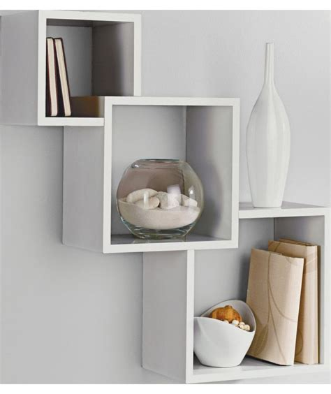 Argos Bedroom Shelves buy high gloss geometric cube shelves white at argos co uk your shop for wall mounted