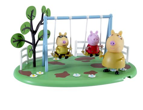 peppa pig swing baby gifts and toys peppa pig playground pals see