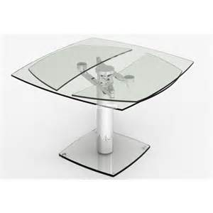 table design verre table en verre design groove et table design en verre avec
