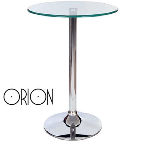glass top pedestal tables