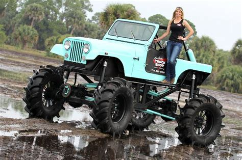 Jam Grand Max By Autoshop custom jeep mud truck with rockwell axles photo 69132855