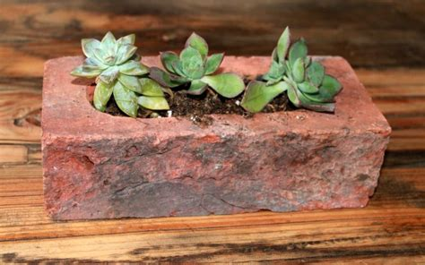 Diy Brick Planter by Stylish Diy Projects With Bricks And Pavers