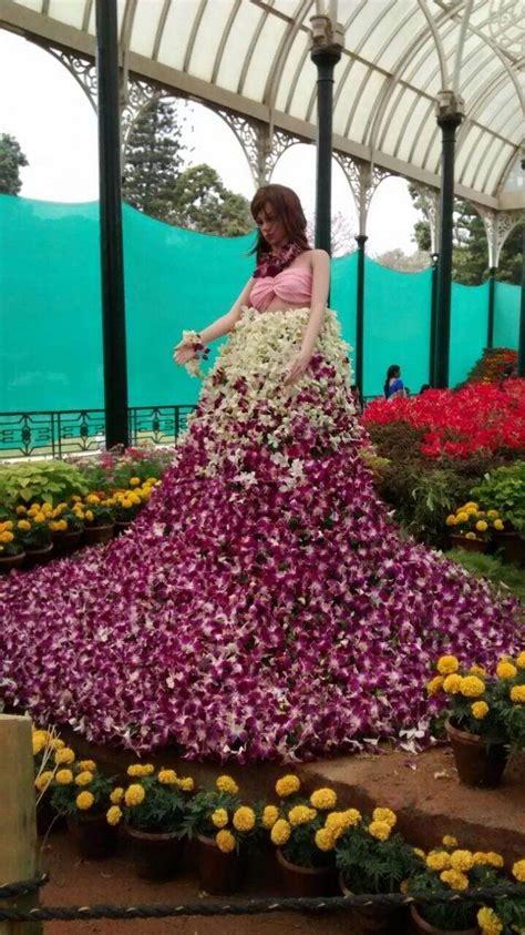 lalbagh botanical garden bangalore india flower show