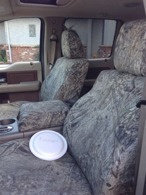 camo seat covers for ford f150 fx4 2 sets of camo seat covers ford f150 forum community