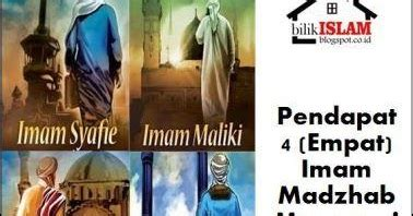 Fikih Wanita Empat Madzhab Muhammad Utsman Al Khasyt pendapat empat imam madzhab tentang qunut bilik islam
