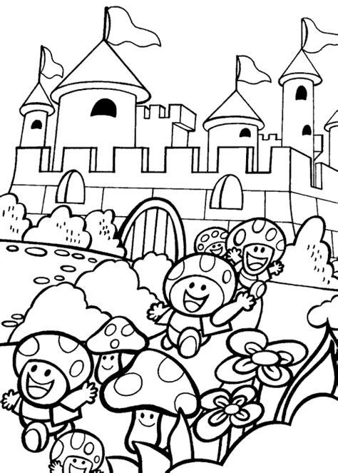 mario background coloring page coloriages de mario bros