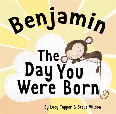 the day you were born personalised new baby book by