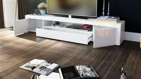 meuble tv moderne laque blanc  prune  cm avec led pas