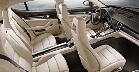 Porsche Panamera White Interior by 2014 Porsche Panamera Turbo And Turbo Executive Announced