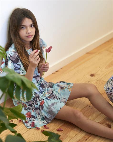 tiny petite teen model sleeping descubre moodblue moda para ni 241 a ss17 preciosos vestidos