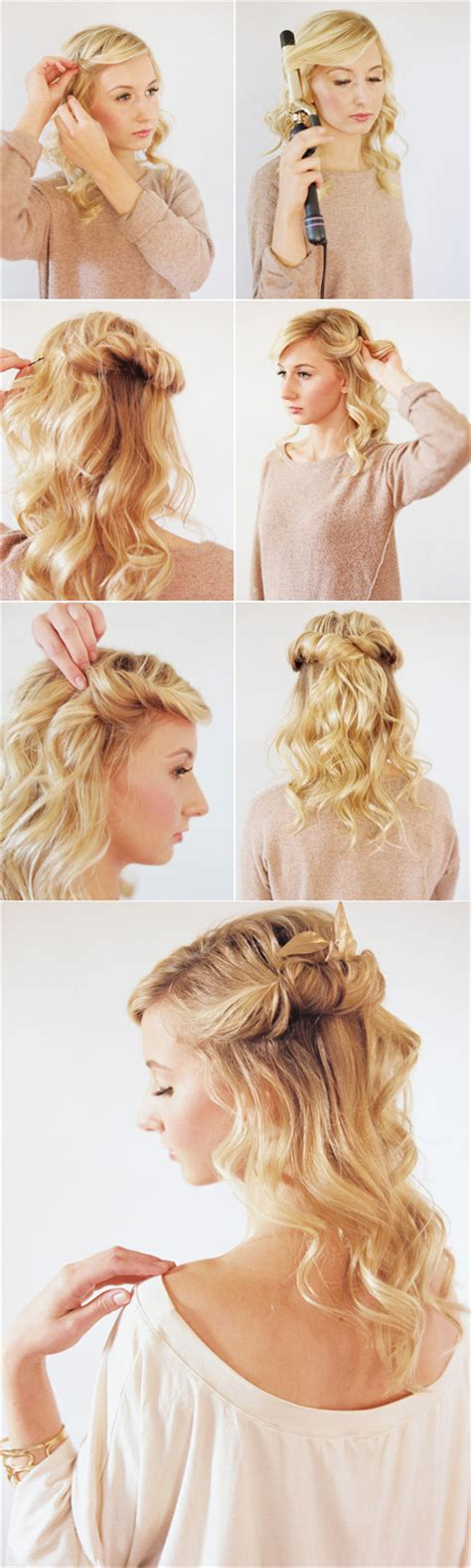 Ways To Do Your Hair After A Shower by Real Best 6 Wedding Hairstyle Tutorial With 20 Inch Hair
