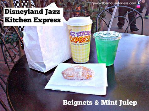Jazz Kitchen Disneyland Menu by Jazz Kitchen Express Menu