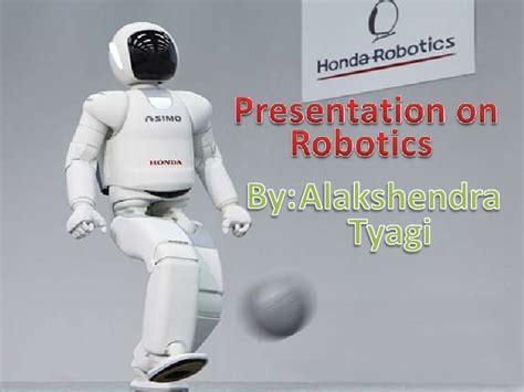 slides for ppt on robotics presentation on robotics