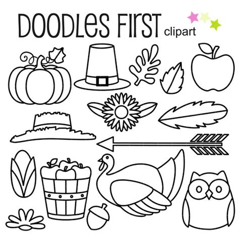 thanksgiving outline clipart 44 thanksgiving outlines clip art for scrapbooking card making