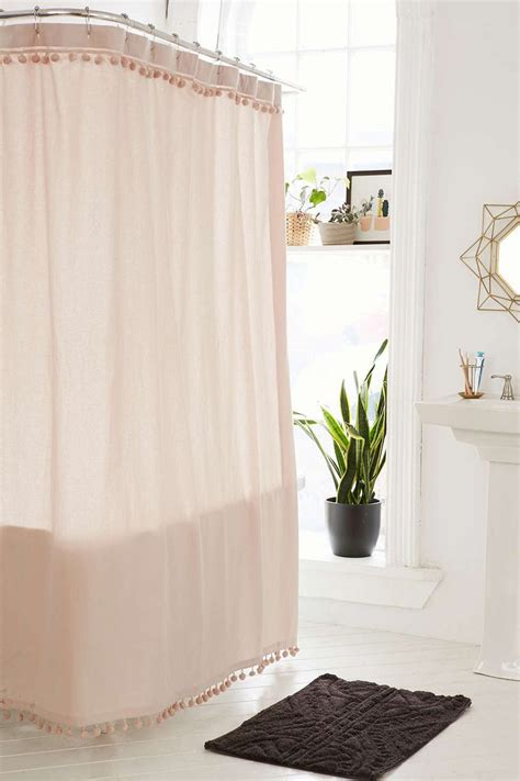 blush shower curtain 25 best ideas about bathroom shower curtains on pinterest