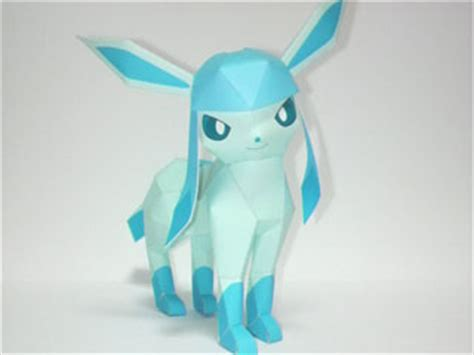 Glaceon Papercraft - image glaceon papercraft 001 jpg papercraft wiki