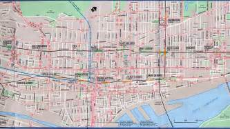 downtown montreal map