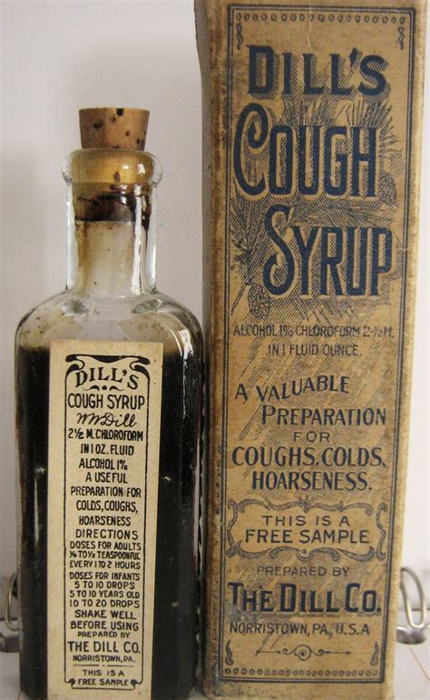 Histrine Syrup dill s cough medicine free sle collectors weekly