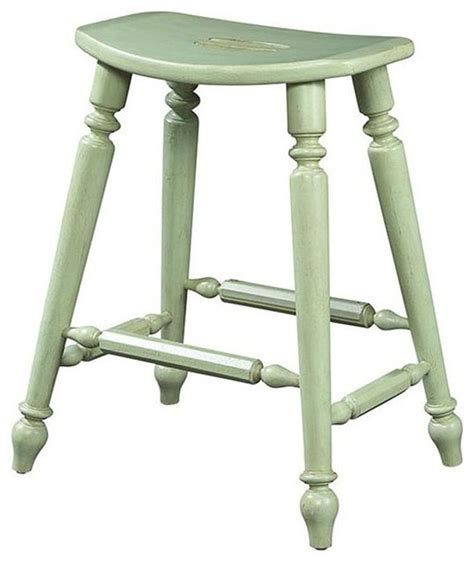 Coastal Style Bar Stools by Furniture Design Summer Home Saddle Counter Stool