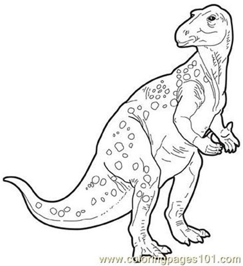 iguanodon coloring page coloring pages