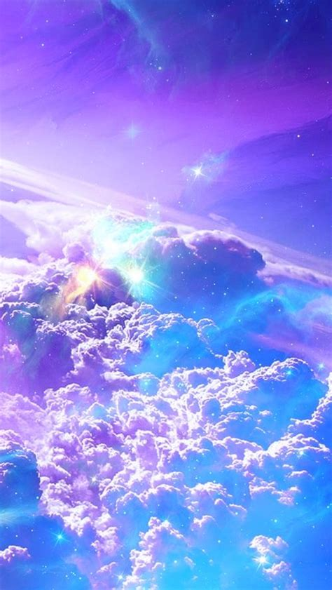 sky space for pinterest galaxien lila himmel and fantasia on pinterest