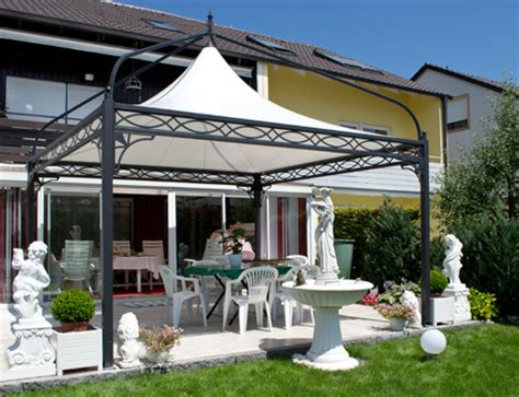 gartenpavillon metall 4x4 bo wi outdoor living referenzen 220 berdachung