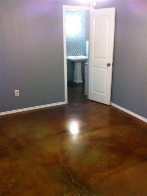 stained concrete bedroom 1000 images about stained concrete on pinterest sliding