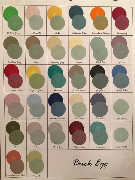 the 25 best sloan colour chart ideas on
