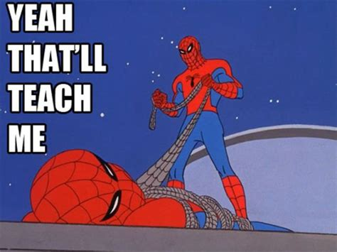 Spiderman Cartoon Meme - spider man memes as read by josh keaton spider man