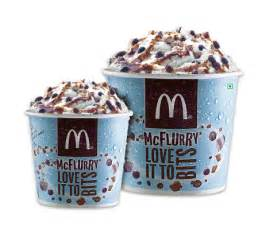Taste the clouds at a slow pace with the new mcflurry available in