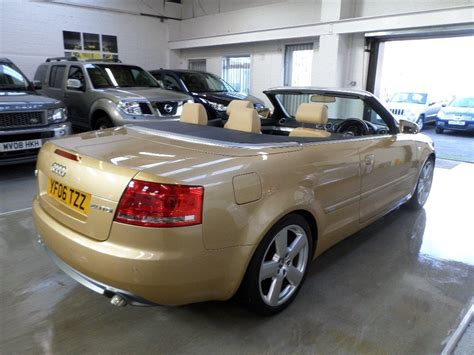 Audi A4 Cabrio 2 0 Tdi by Used 2006 Audi A4 Cabriolet 2 0 Tdi S Line 2dr For Sale In