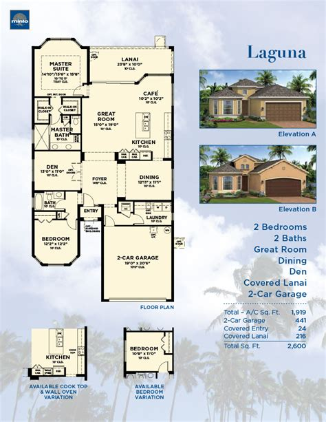 Minto Homes Floor Plans sun city center laguna model sarasota new homes minto