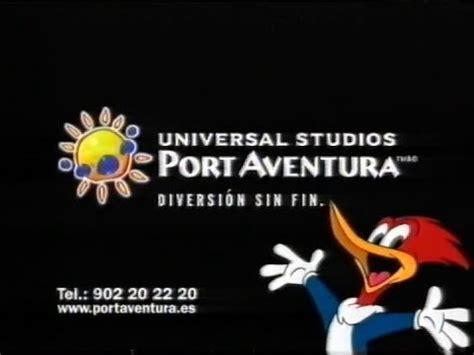 universal studios aventura universal studios portaventura anuncio
