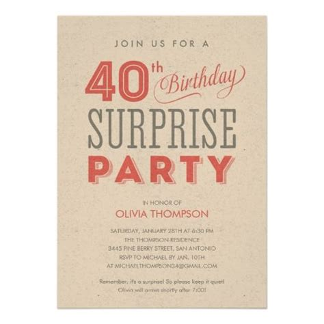 wording for 40th birthday invitations 40th birthday invitations wording free