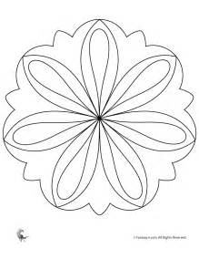 easy mandala coloring pages free coloring pages of easy mandalas