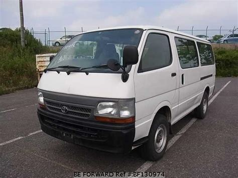Toyota Hiace 2004 Model Used Hiace Toyota For Sale Bf130974 Japanese Used