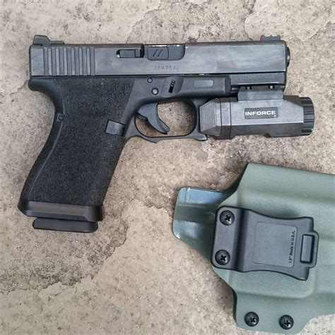 glock 23 tactical light inforce apl pistol mounted tactical weapon light glock 19