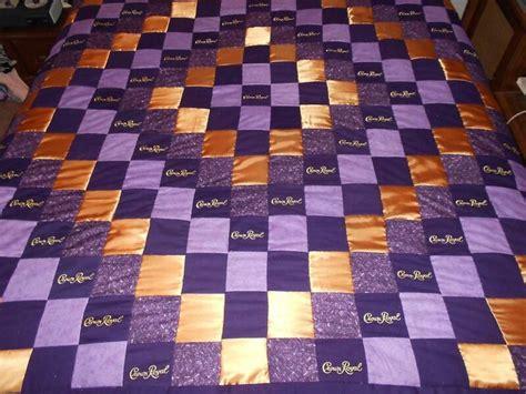 crown royal quilt diy