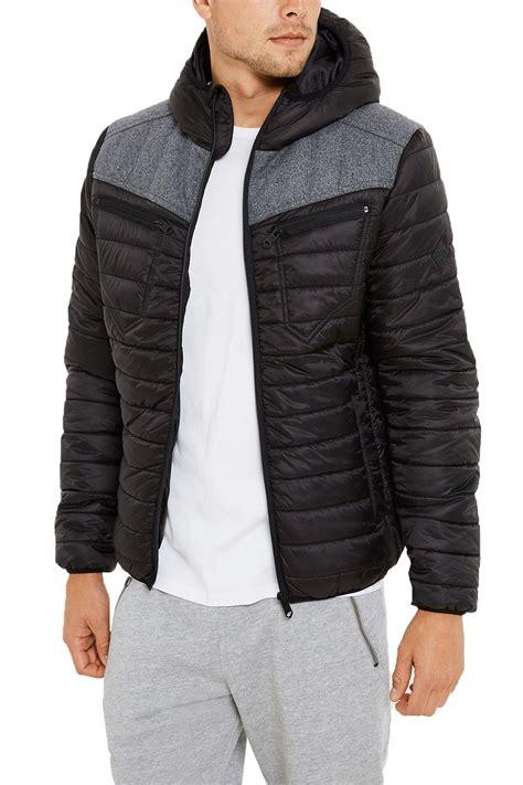 Bls Jaket Atau Sweater Hoodie 6 threadbare kite mens hoodie quilted lightweight new wool blend puffer jacket ebay