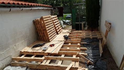 Diy pallet outdoor flooring pallet ideas recycled