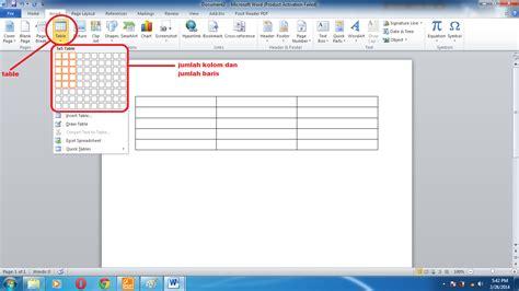 membuat table center html membuat table dan mengisi formula pada microsoft word 2010