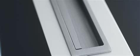 Alternative To Pocket Door recessed flush pull