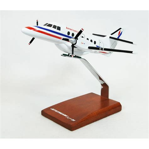 Commercial Model Planes | bae 31a jetstream american eagle model aircraft 1 48 scale