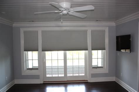 Cellular Shades For Patio Doors Asap Blinds Residential Projects Traditional Cellular Shades New York By Asap Blinds