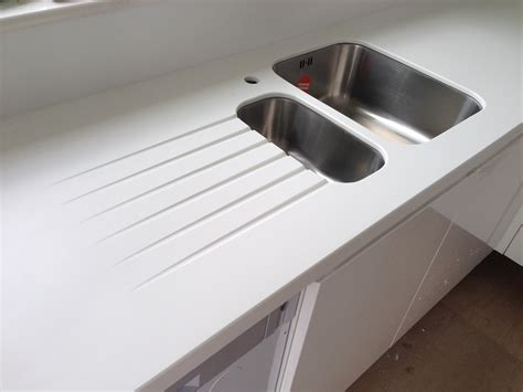 solid surface kitchen sinks corian bespoke solid surfaces limited